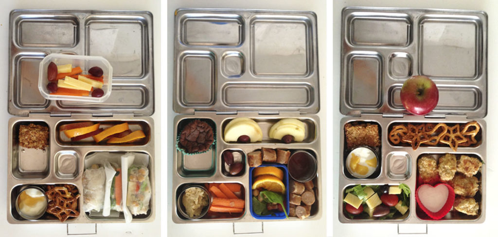 3 Lunch Boxes