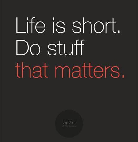 Do Stuff That Matters