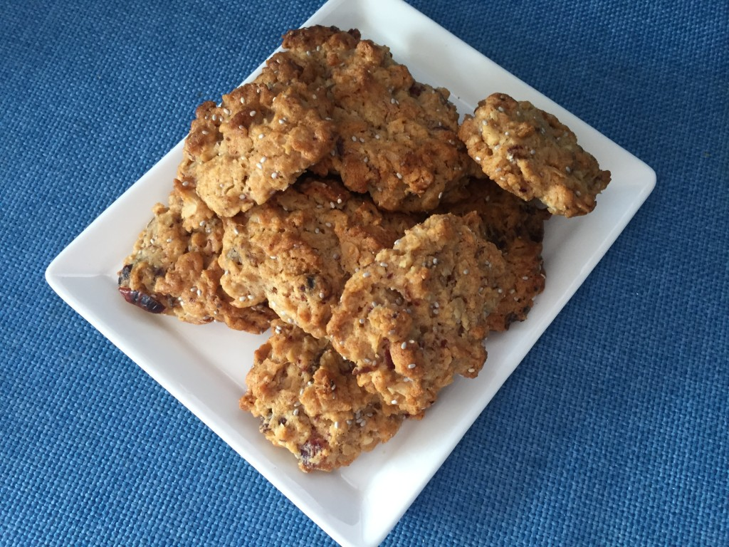 Chewy Oat & Date Cookes