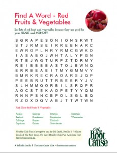 Final - Red F&V Find A Word
