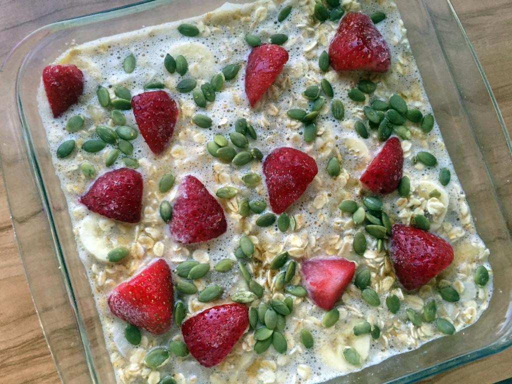 French Porridge Pie