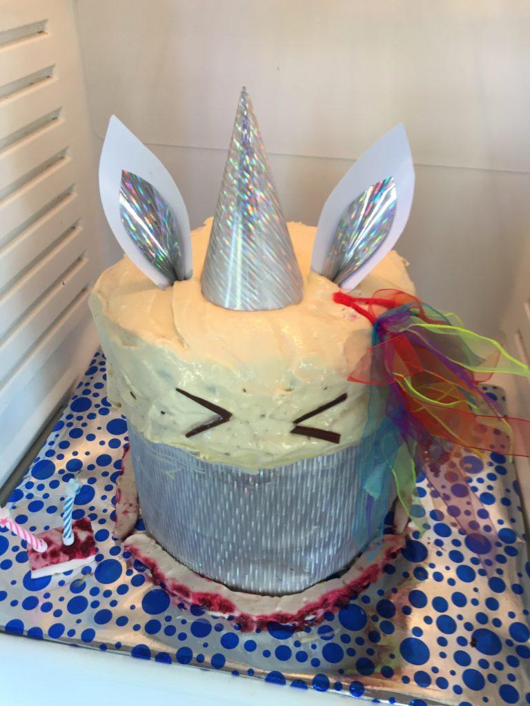 Rainbow Unicorn Birthday Cake The Root Cause