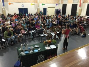 Parent Seminar following The Mad Food Science Program at a school