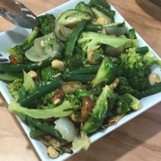 Sauteed B Vegetables